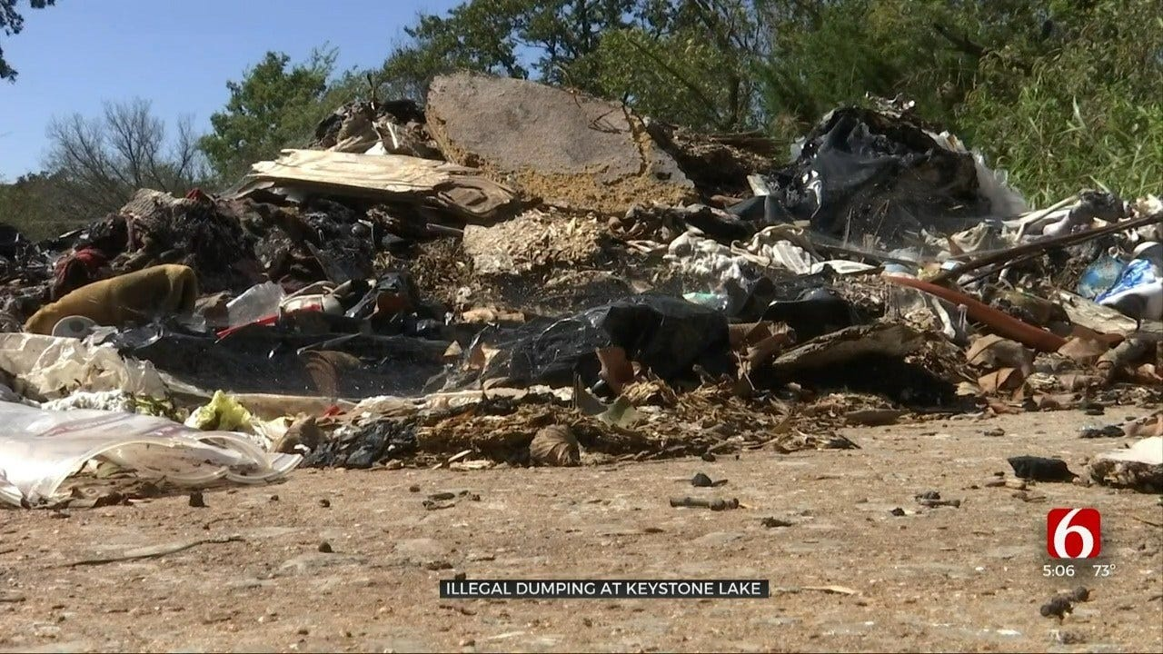 Oklahoma Army Corps of Engineers Battling Illegal Trash Dumpers