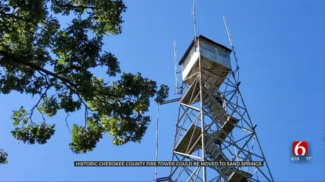 Oklahoma Forestry Service Possibly Moving Cherokee Co. Tower