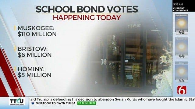 Voters To Decide On Multiple School District Bonds