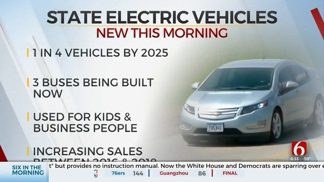 Cherokee Nation Says State Needs To Invest In Electric Vehicles