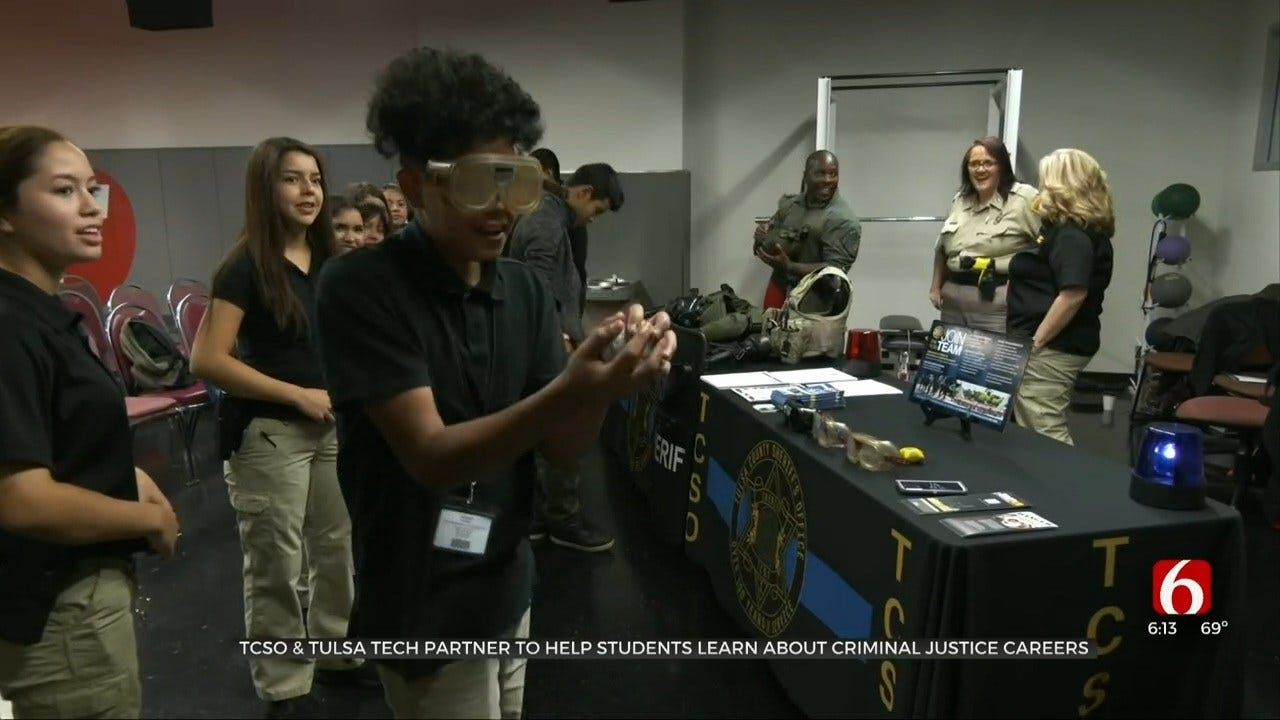 Tulsa Co. High School Students Learn About Career Opportunities