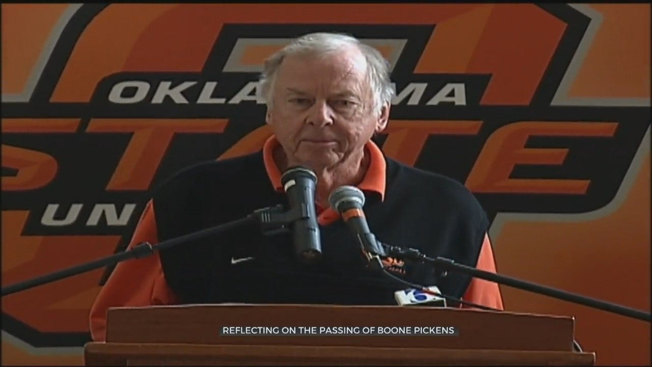 Boone Pickens Remembered For Philanthropic Impact
