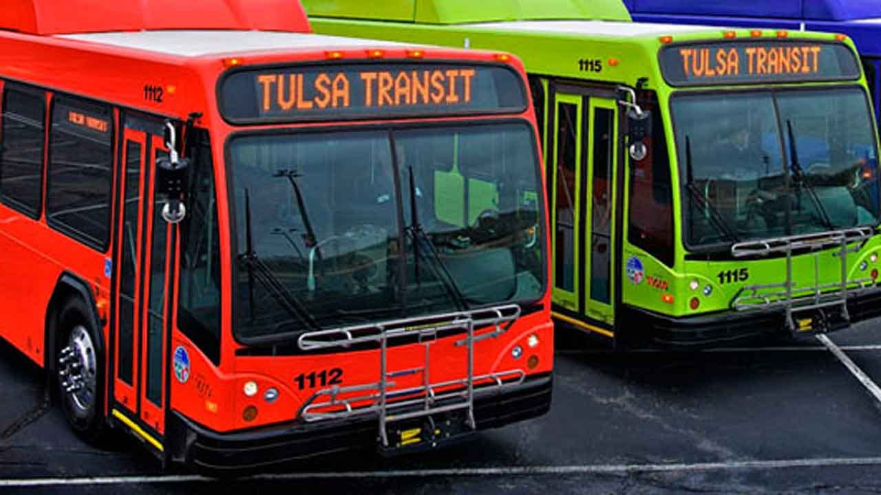Tulsa Launches New Bus Routes For 1st Time In 15 Years