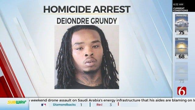 Tulsa Murder Suspect In Custody In Florida