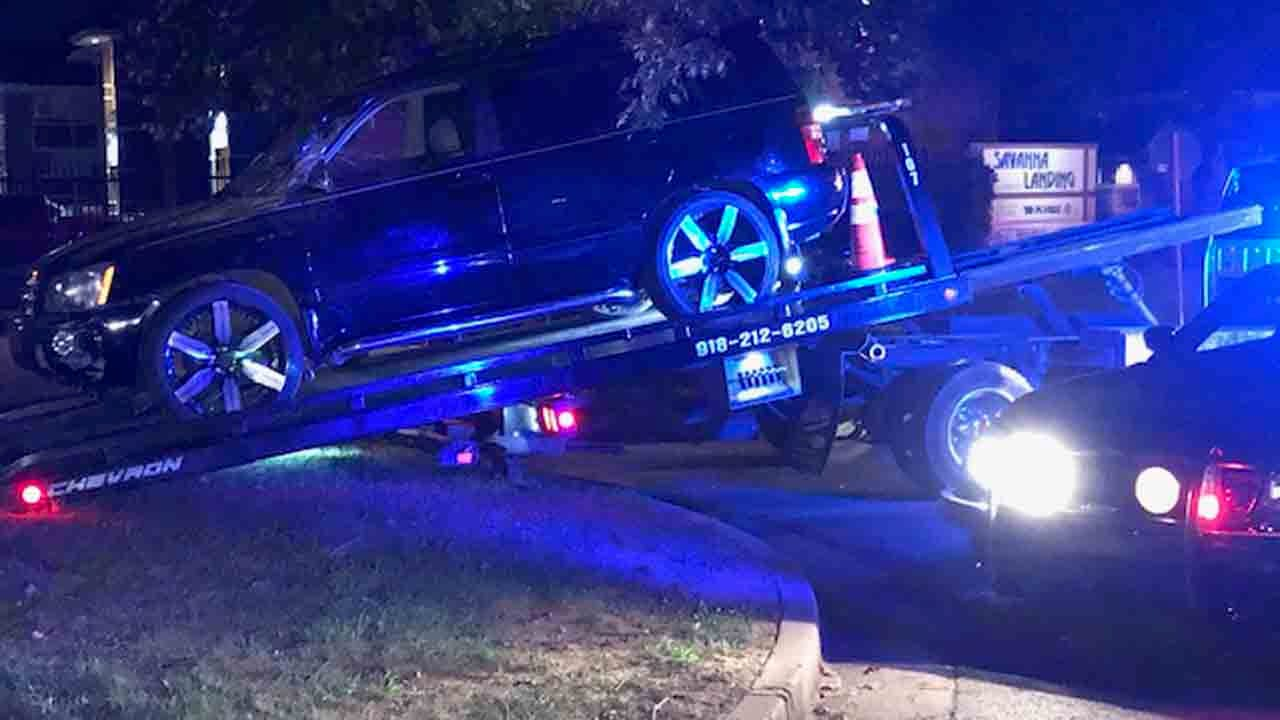 1 Arrested After Tulsa Chase, Hitting Apartment Building