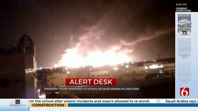 Tensions Escalate Between U.S. And Iran After Attack On Saudi Arabian Oil Facilities