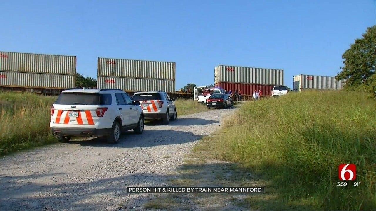 Tulsa Man Hit, Killed By Train Near Mannford