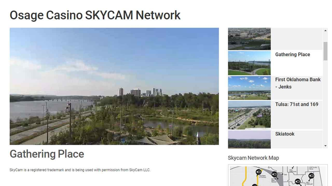 Get An Inside Look At Gathering Place With News On 6 Osage Casino SkyCam Network