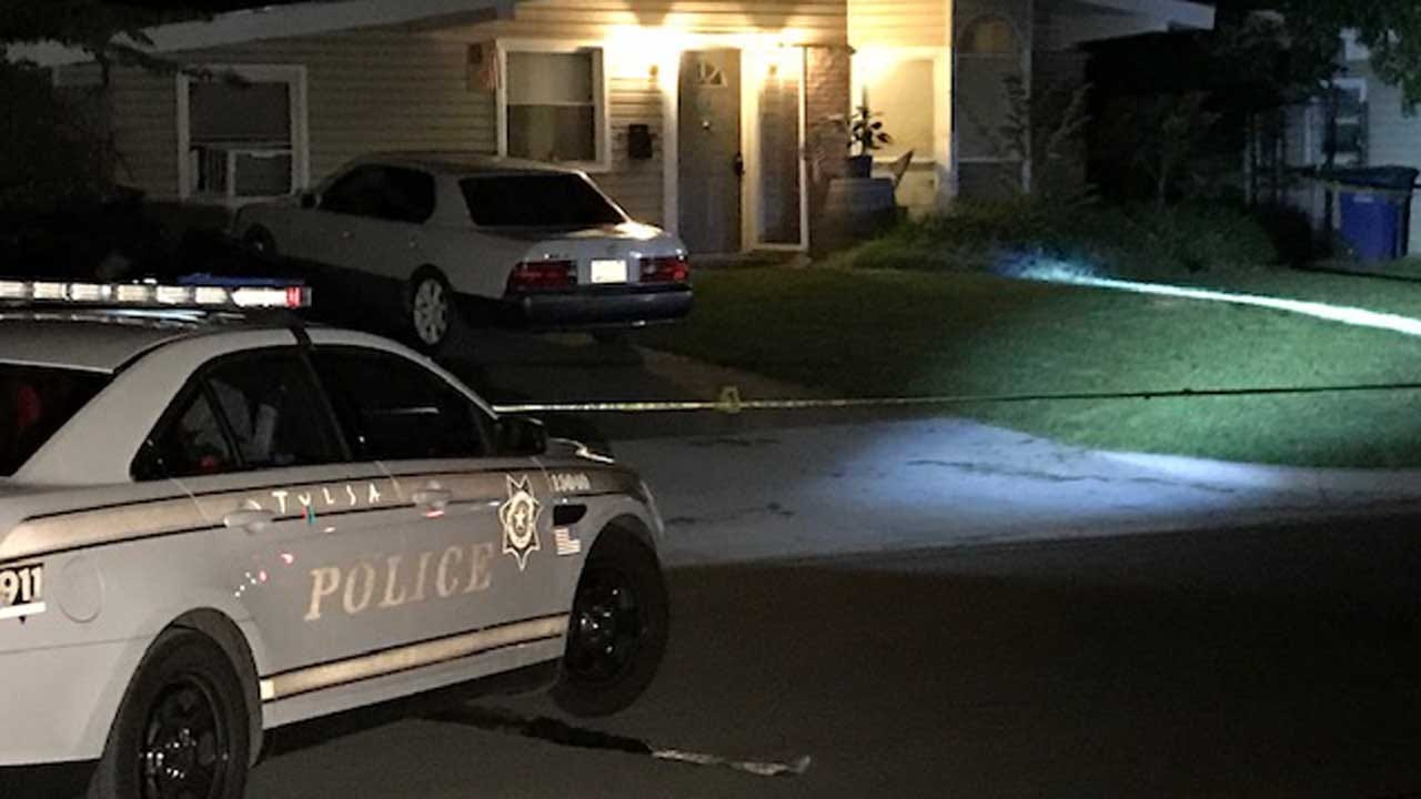Tulsa Police Investigate After Woman Shot, Man Hit By Car