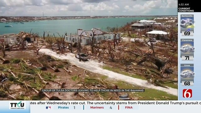 Group Of Tulsa Doctors Heads to The Bahamas To Help After Hurricane Dorian