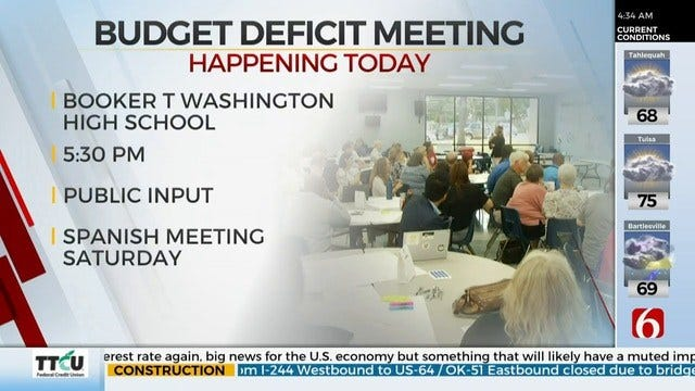 TPS Holds Community Meeting About Budget Deficit