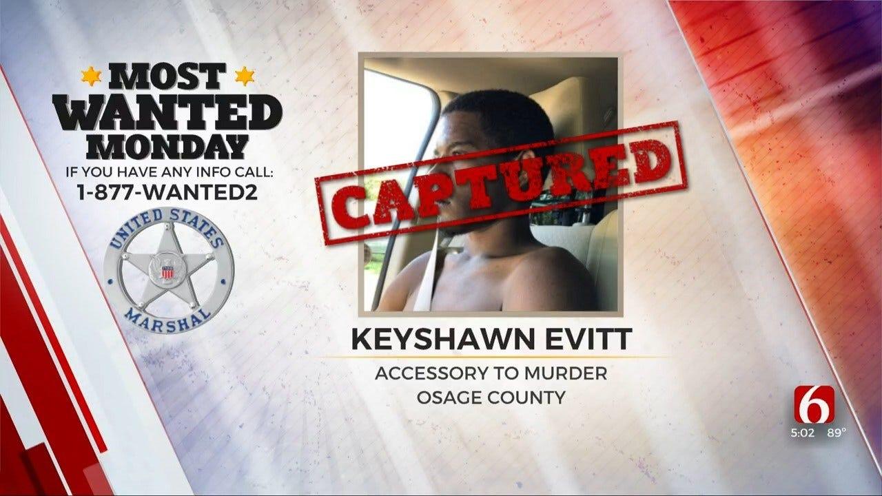U.S. Marshals Arrest Man Accused Of Accessory To Murder