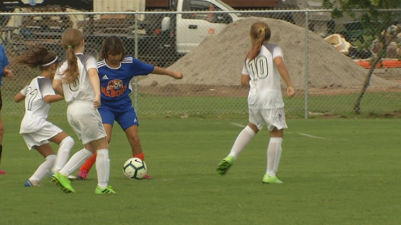 First Soccer Tournament Played in Broken Arrow After Spring Floods