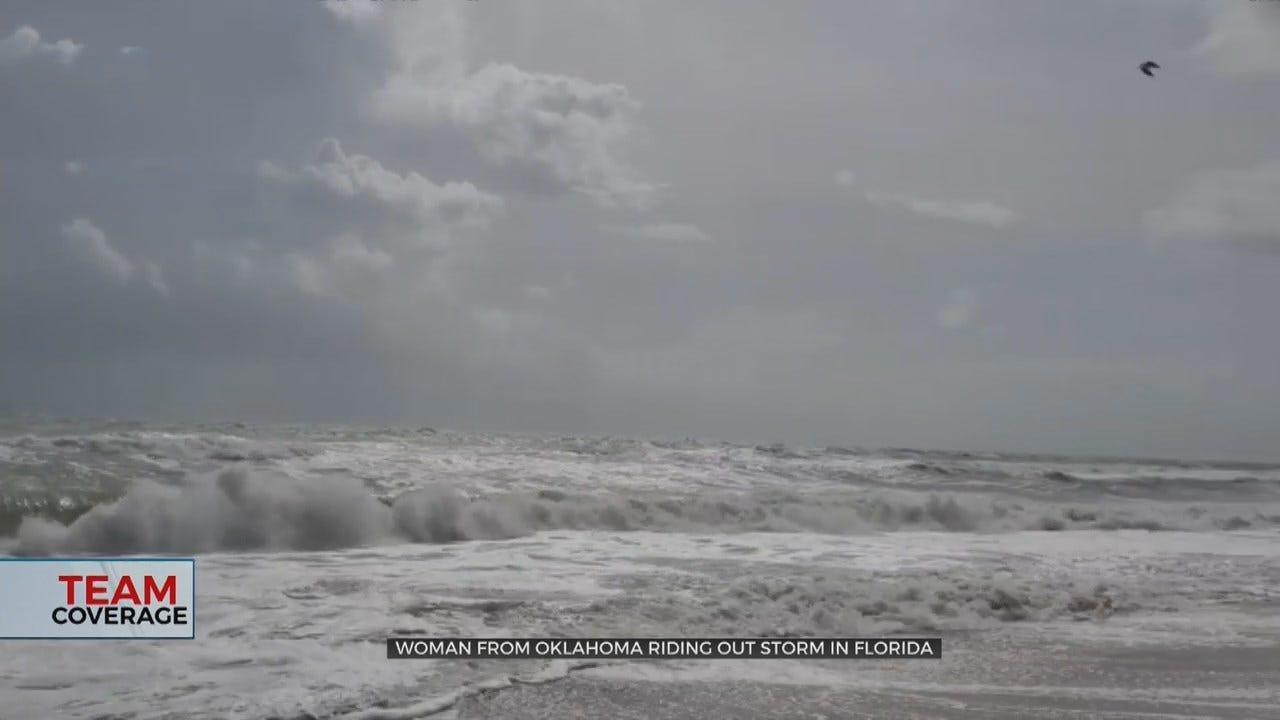 Former Oklahoma Resident Talks Preparation For Hurricane Dorian