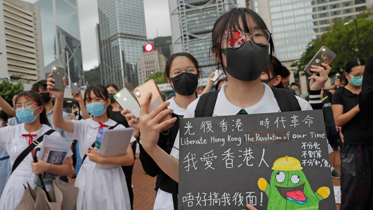 300 Arrested In Hong Kong As China's New 'National Security' Law Comes Into Force