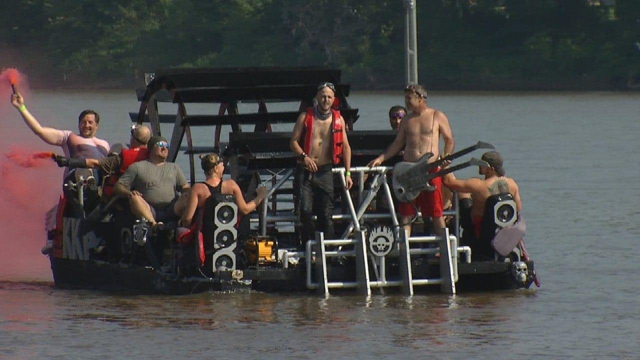 TFD Monitors Changing River Channel At Great Raft Race