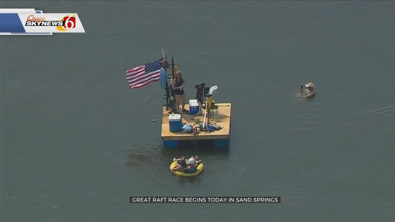 Tulsa's Great Raft Race Marks 5th Annual Race