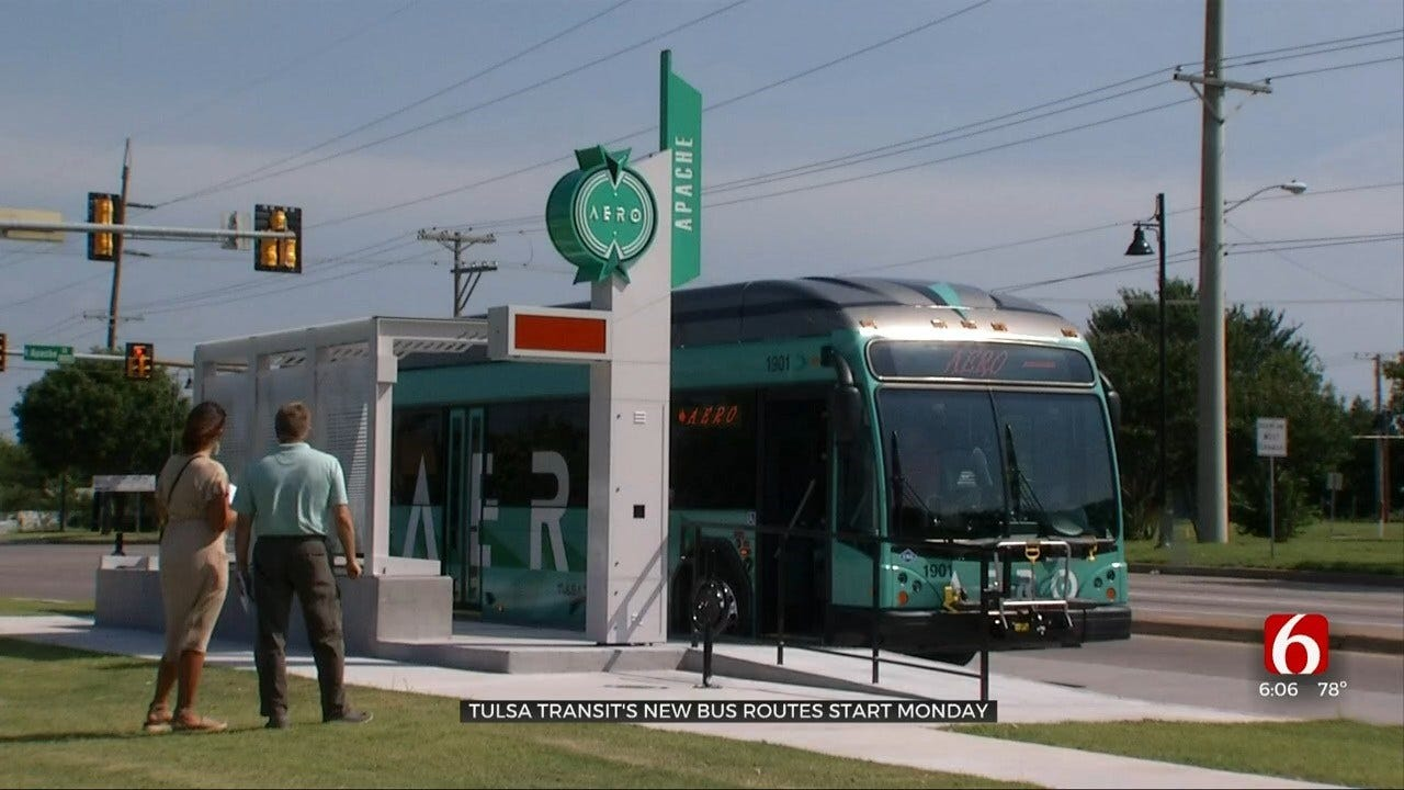Tulsa Transit Changes Bus Routes