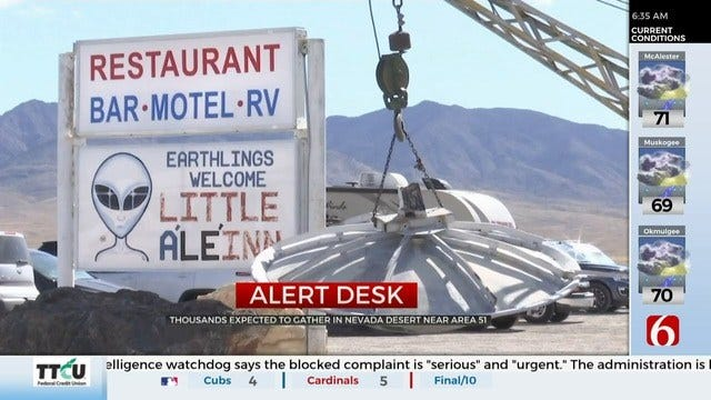 U.S. Air Force Issues Warning Ahead Of 'Storm Area 51' Music Festival