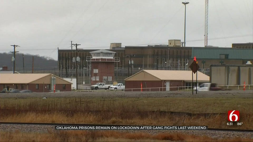 Okla. Prisons Remain On Lockdown Due To Gang Related Fights