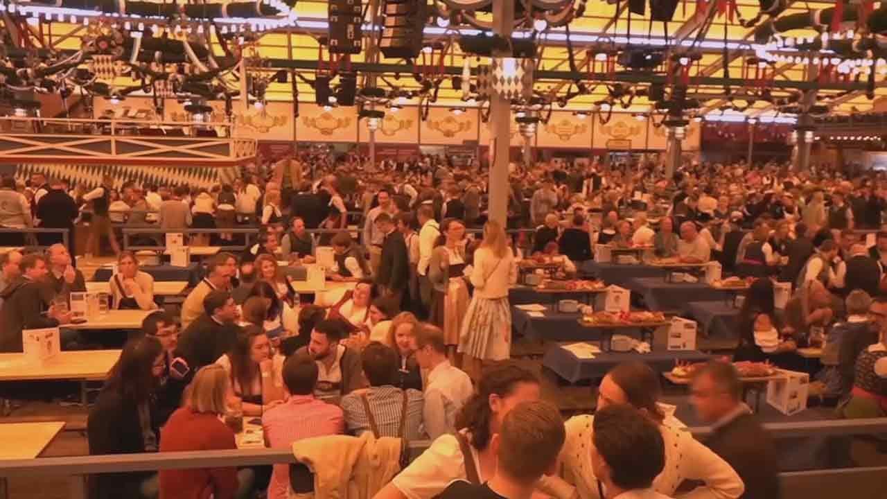 186th Oktoberfest Underway In Germany