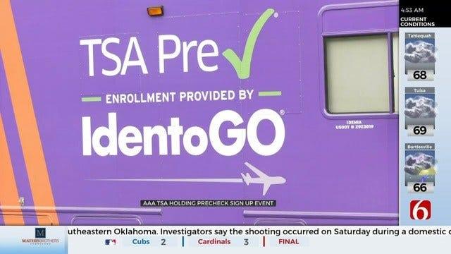 AAA Tulsa And TSA Host Pre-Check Registration Event