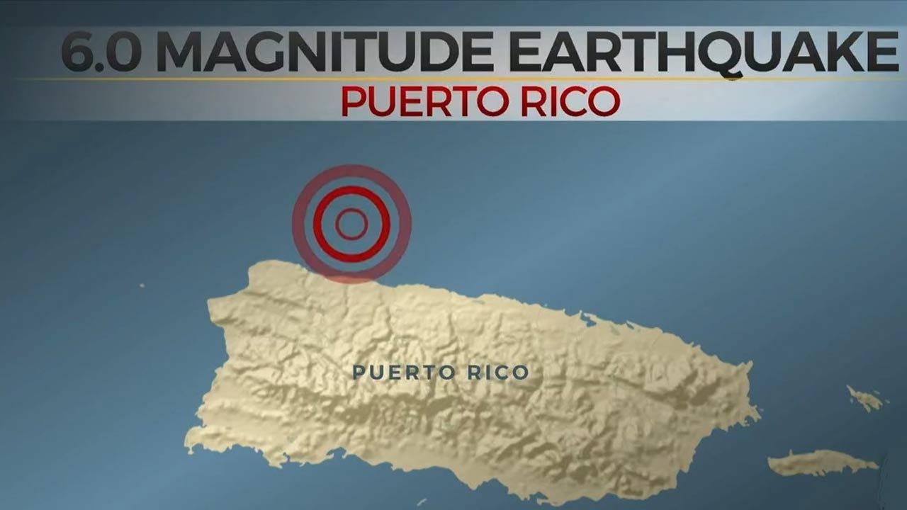 6.0-Magnitude Earthquake Shakes Puerto Rico