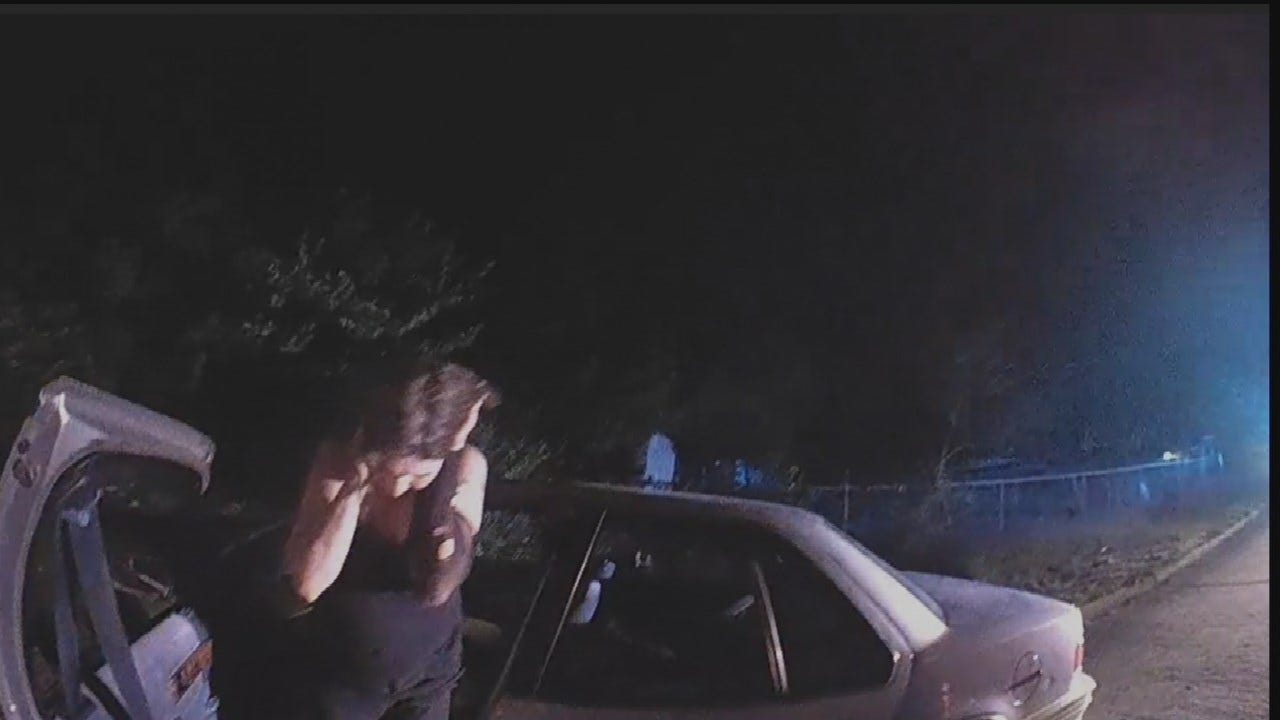 Police Release New Video Of Tulsa Chase And Drug Arrest