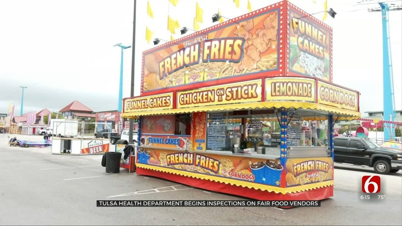 Tulsa Health Department Inspects Vendors Prior To State Fair
