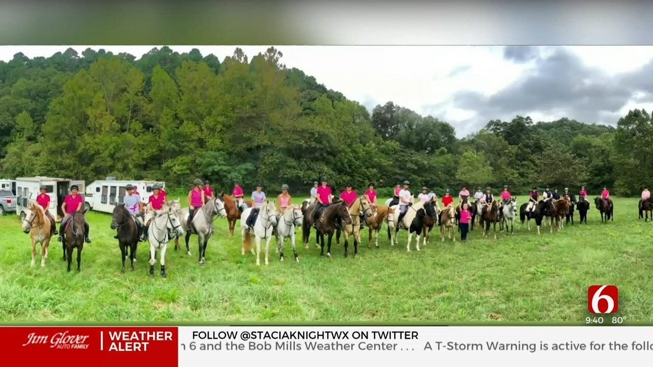 Horseback Riding Provides Support System For Oklahoma Breast Cancer Patients