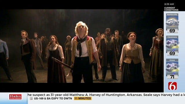 Les Miserables Cast Members Stop By News On 6