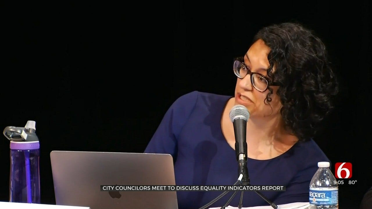 Tulsa City Council Talks Equality Report