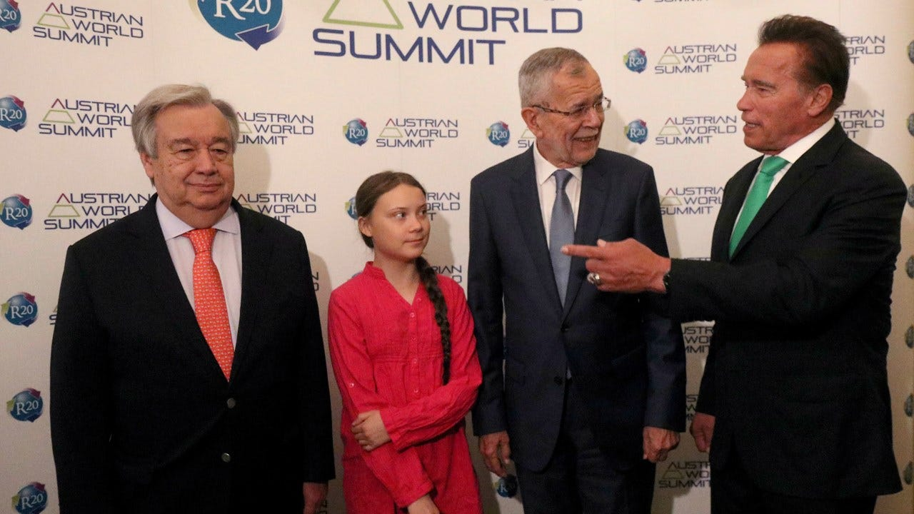 Greta Thunberg Says Arnold Schwarzenegger Offered To Lend Her His Electric Car