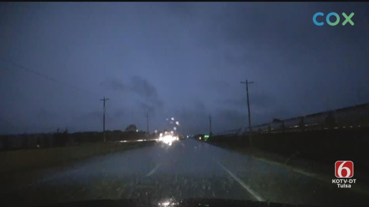WATCH: News On 6 Storm Tracker Bob Rohloff Tracks Storms In The Tulsa Area