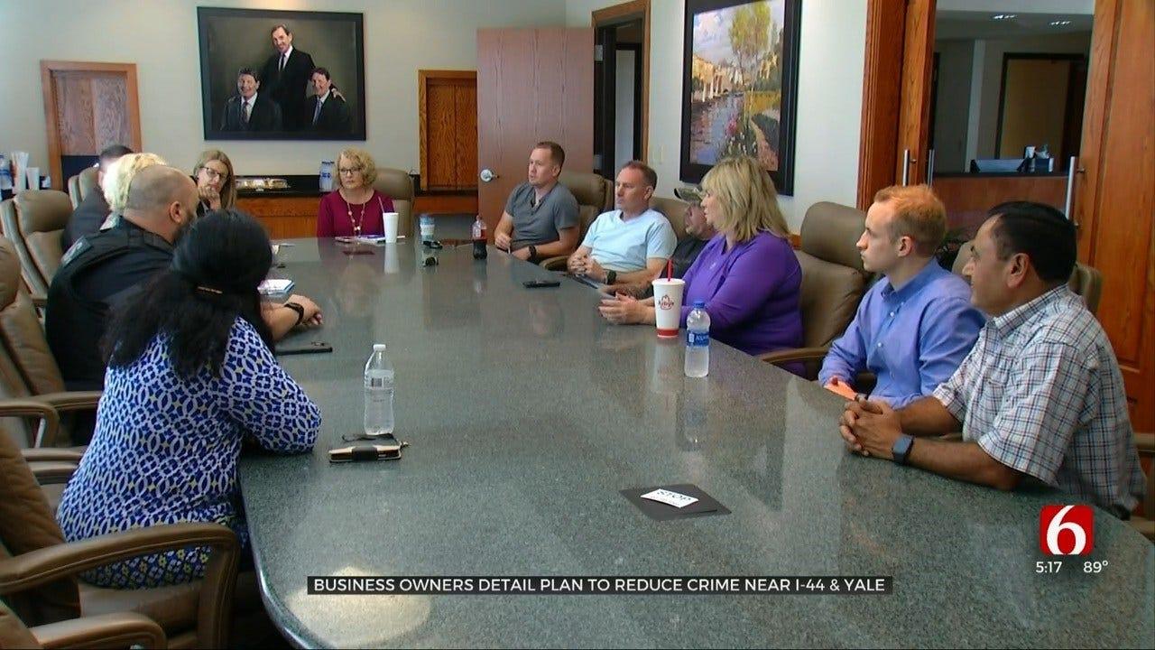 Tulsa Businesses Meet To Reduce Crime