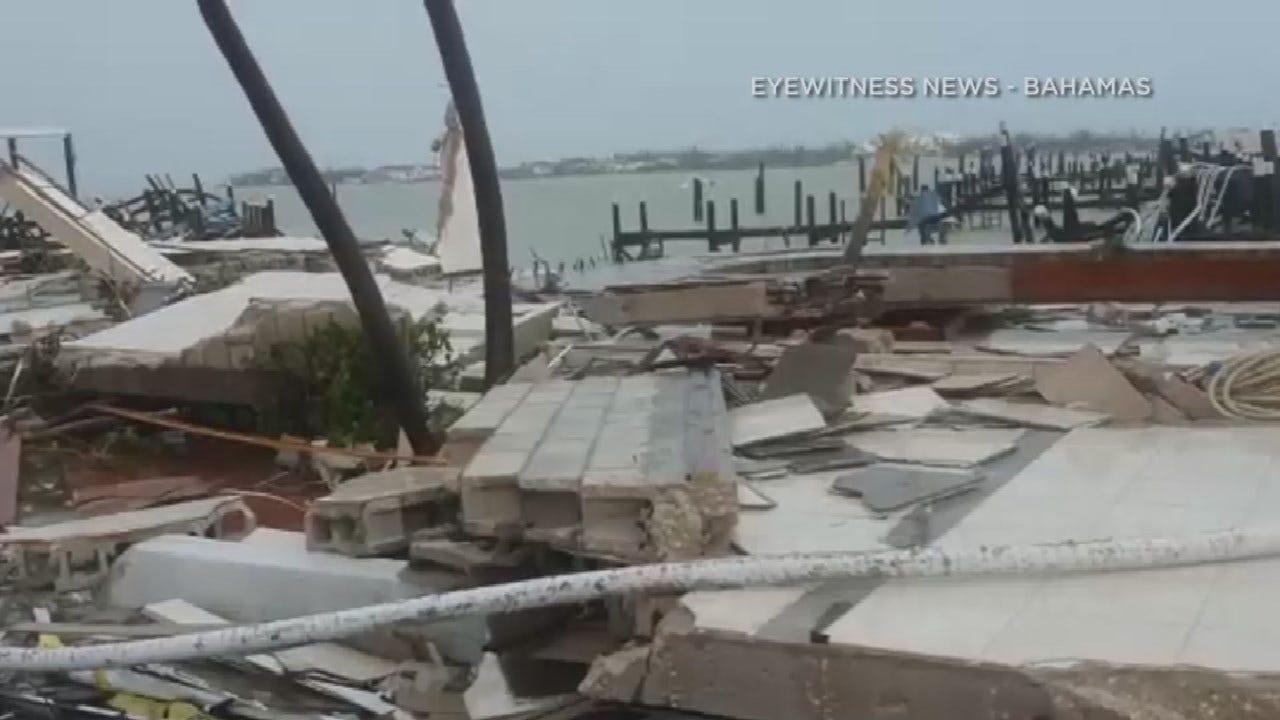 Deadly Hurricane Dorian Hovering Over Bahamas