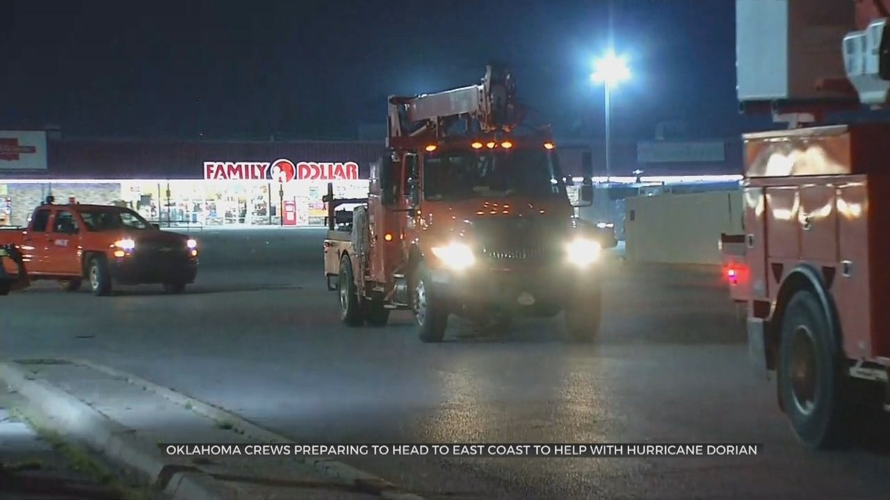 Oklahomans Head To East Coast To Help People In Hurricane Dorian's Path