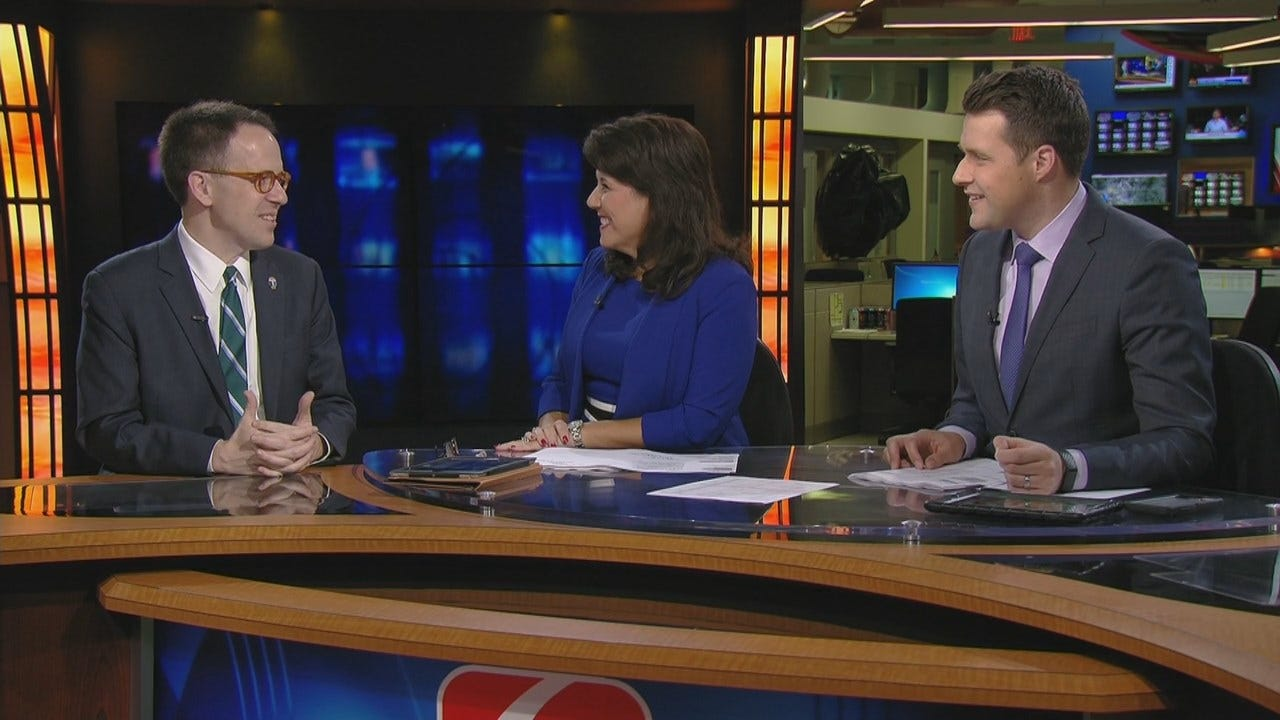 WATCH: Mayor G. T. Bynum Sits Down With LeAnne Taylor And Dave Davis On 6 In The Morning