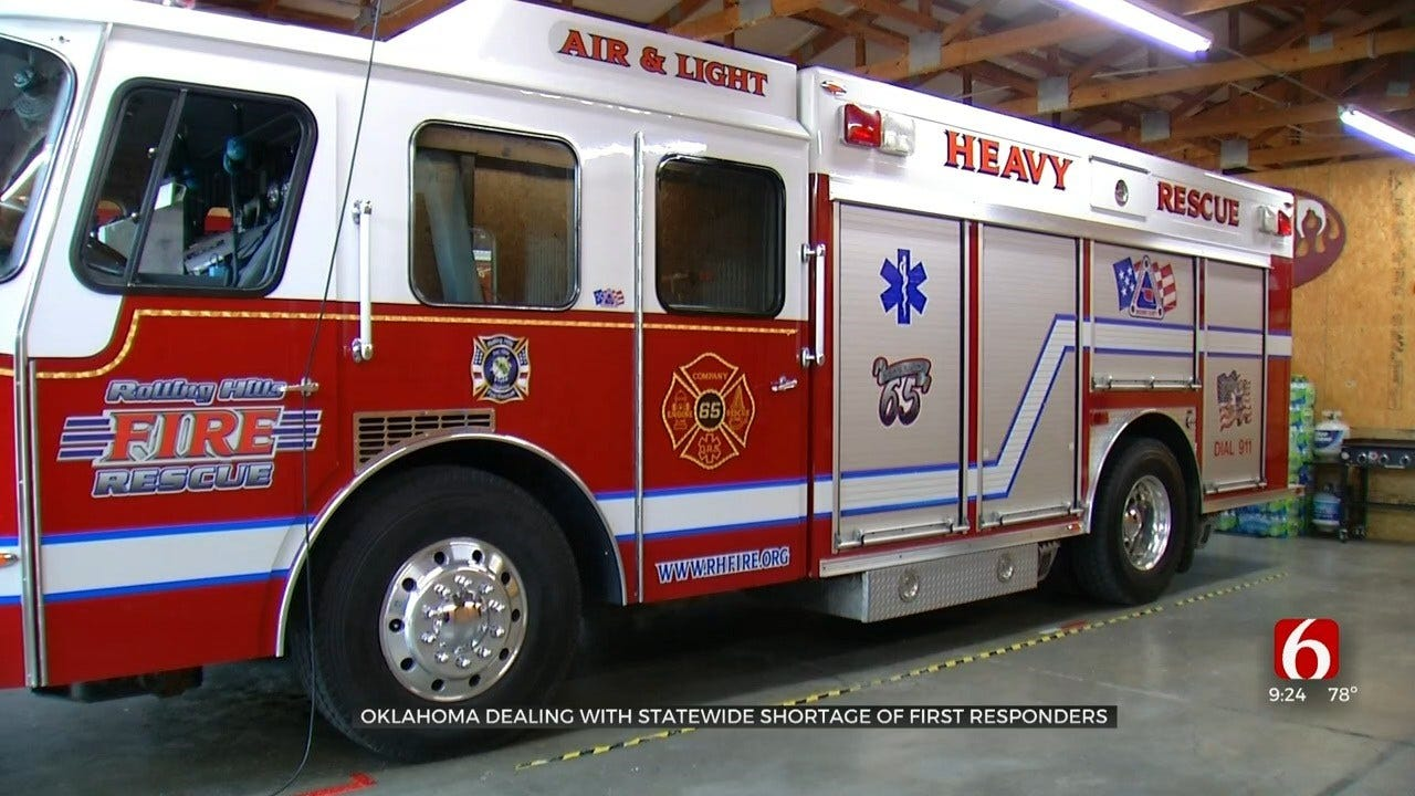 Green Country Faces Shortage Of First Responders