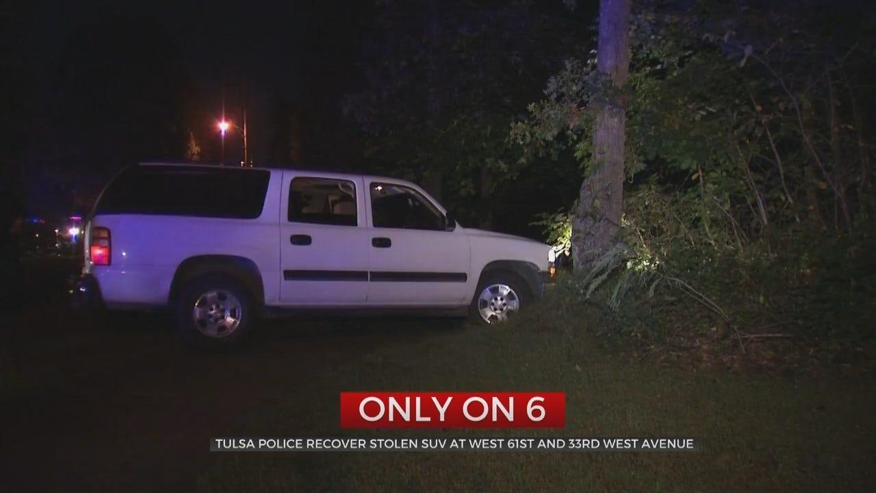 Multiple People Arrested After Tulsa Police Stop Stolen SUV