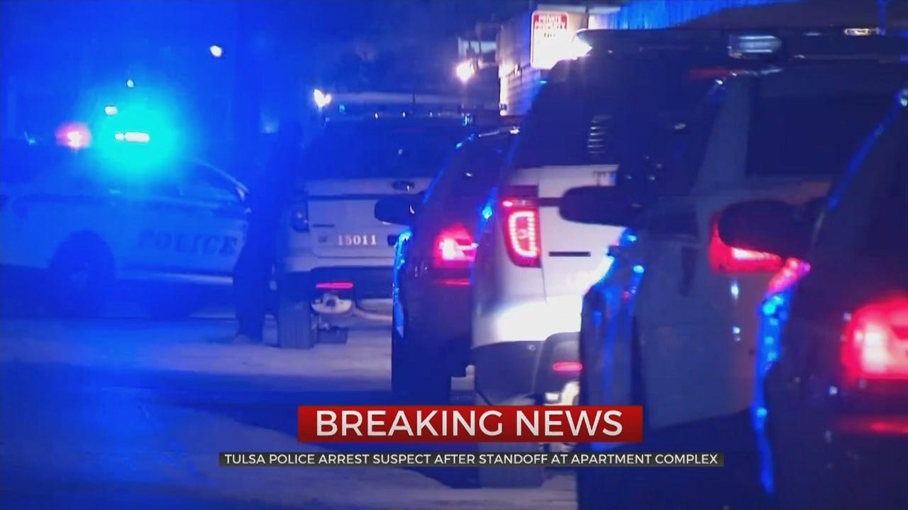 Tulsa Police: 1 Arrested After Standoff, Threatening To Blow-Up Apartment