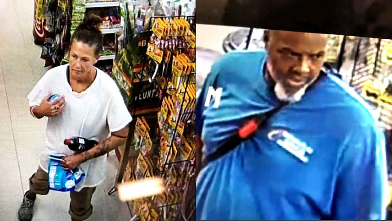 Tulsa Police Searching For Suspects Accused Of Stealing Credit Card