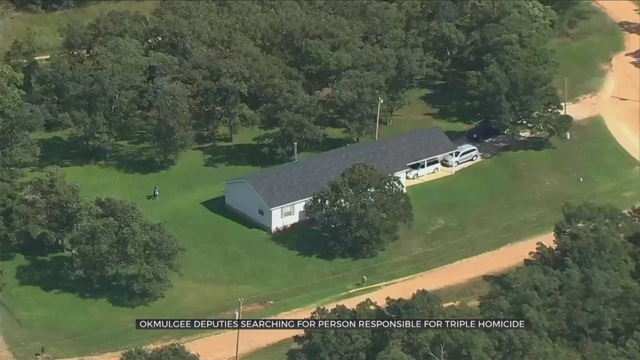 Okmulgee Co. Triple Homicide Has Neighbors Concerned