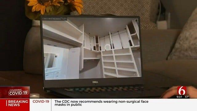 Oklahoma Realtor Offering Virtual Tours During State's Coronavirus Outbreak