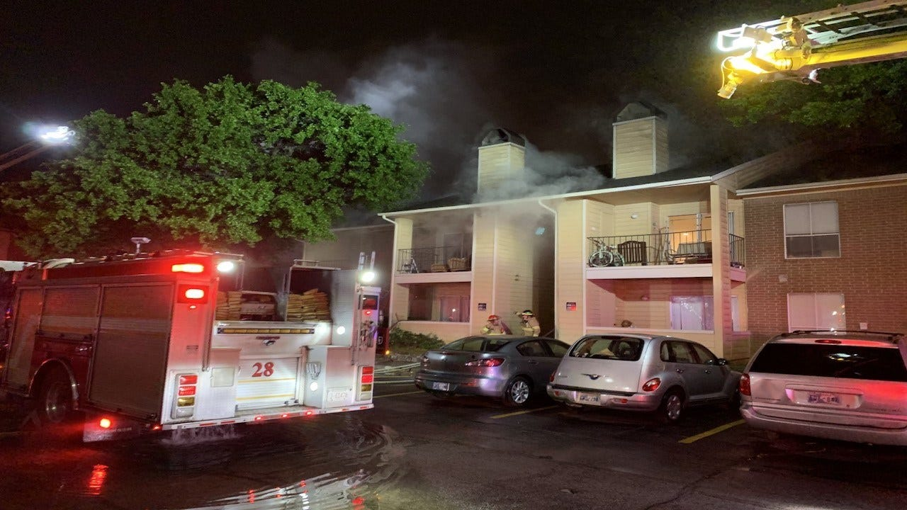 Multiple People Displaced After Tulsa Apartment Fire
