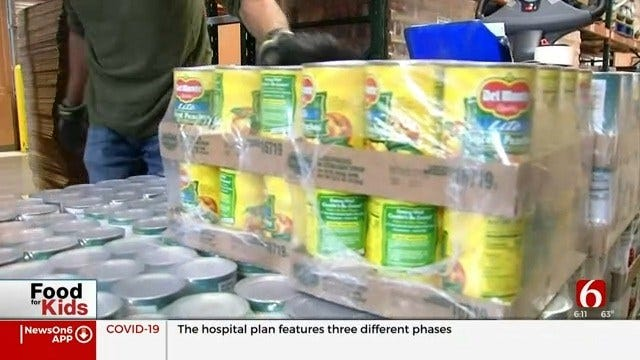 Community Food Bank of Eastern Oklahoma: Food Donations Down, Monetary Donations Up During Pandemic