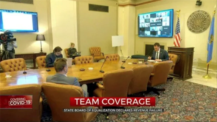 State Board Of Equalization Declares Revenue Failure