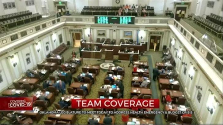 Okla. Legislature To Address Health Emergency, Budget Crisis
