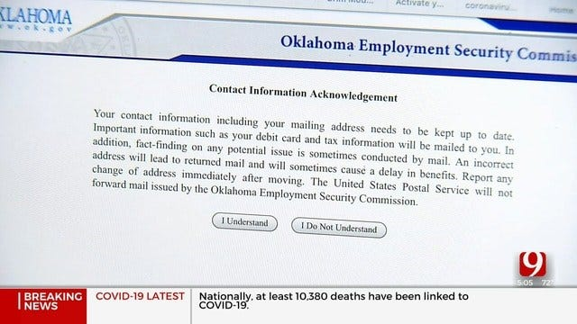 Oklahoma Agency Hires More To Keep Up With Record Number Of Unemployment Claims