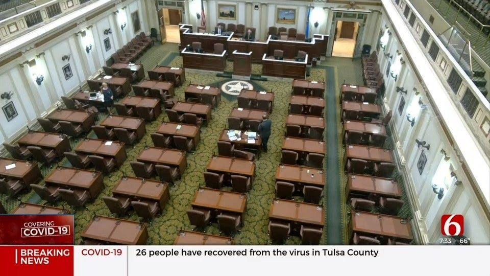 Lawmakers Give Gov. Stitt Power Under The Catastrophic Health Emergency Powers Act